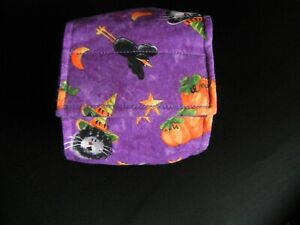 """Dog Puppy Belly Band Wrap Contour Diaper Male Puppy Flannel lined 22"""" HALLOWEEN"""