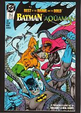 Batman & Aquaman: Best of the Brave and Bold #3-1988 Comic Book