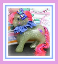 ❤️My Little Pony MLP G1 Vintage MAIL ORDER Sky Rocket SPARKLE Glitter Tinsel❤️