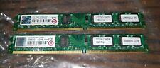 Transcend 4GB (2x2GB) Kit, 800 MHz DDR2 SDRAM (JM800QLU-2G) Low Profile