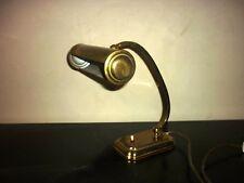 lampe en laiton doré de piano ou bureau circa 1920 art deco
