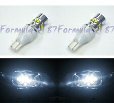 LED Light 50W 921 White 5000K Two Bulbs Back Up Reverse Replace Plug Play Lamp