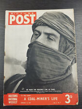 Picture Post Magazine:General Berthomet in Tunis, Elder Blooms February 18, 1939