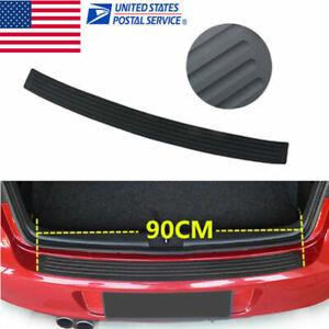 Car Door Sill Scuff Plate Cover Anti Scratch Sticker Rear Bumper Cover Back Door