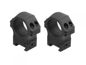 UTG PRO POI Picatinny Scope Rings 30mm Medium RWU013015