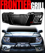 FOR 2005-2008 FRONTIER/PATHFINDER BLACK VERTICAL FRONT BUMPER GRILL GRILLE ABS