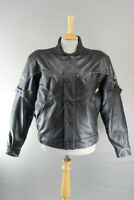 SHOEI SPORTS PERFORMANCE LEATHER BIKER JACKET + CE ARMOUR & THERMAL LINING 40 IN