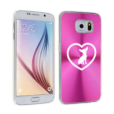 For Samsung Galaxy S7 S4 S5 S6 / S6 Edge + Hard Case Cover Chihuahua Heart