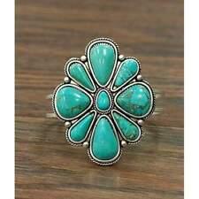 Flower Power Turquoise Bracelet