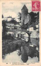 SEMUR - le Pont Pinard et la Tour du Théâtre -