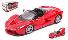 Ferrari La Ferrari Aperta Red 1:24 Model 26022R BBURAGO