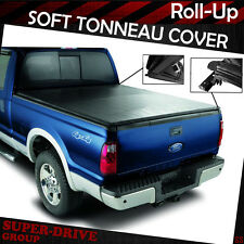 """Premium Lock Roll Up Soft Tonneau Cover Fit 2004-2017 FORD F-150 5.5' FT 66"""" Bed"""