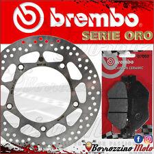 BREMBO 68B407F8 DISCO FRENO + PASTIGLIE POSTERIORI YAMAHA T-MAX 530 ABS