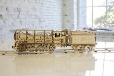 UGEARS Locomotive Mechanical 3D Puzzle Eco Toys by UGEARS