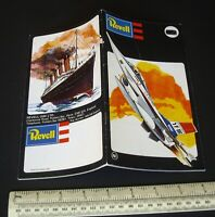Vintage Revell GB Plastic Kit Catalogue 1977 Planes, Ships, Cars, Motorcycles
