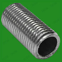 2x M10 20mm x 10mm Allthread Hollow Threaded Rod Tube For Electrical Lamp Socket