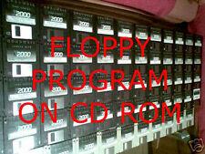105 programs setup CD for Kurzweil k2600r k2600x pc3k6 pc3k7 pc3k8 pc3k K2661