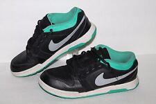 NIke Mogan 3 SB Casual Sneakers, #487640-003, Blk/teal/Grey, Men's ~5 / 5 Youth