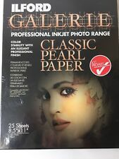 Ilford Galerie Classic 8 1/2 x 11 Inch Pearl Paper 25 Sheets (1979257) New