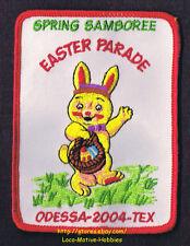 LMH Patch 2004 GOOD SAM CLUB Spring SAMBOREE Rally EASTER PARADE Odessa TX Bunny