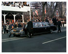 President Lyndon Johnson And Lady Bird Parade In Limo 8 x 10 Silver Halide Photo