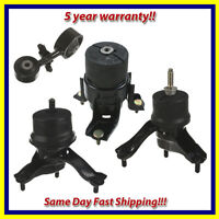Engine Motor & Trans Mount Set 4PCS. 2004-2008 for Toyota Solara 2.4L for Auto.