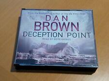 Dan Brown Deception Point (Abridged) Audiobook