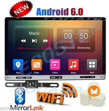 """Android 6.0 7"""" Double 2Din 3G Wifi Car GPS DVD Player BT Radio Bluetooth +CAMERA"""