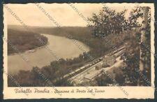 Novara Varallo Pombia Stazione Treno cartolina ZT6341
