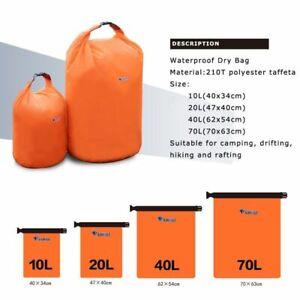Bag Sack Waterproof Dry Rafting Swimming Kayaking Trekking Resistance Floating
