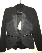 JUST CAVALLI BNWT Black fitted jacket was $1800 now $900