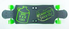 """BEERCAN BOARDS 35"""" HARD CIDER COMPLETE LONGBOARD SKATEBOARD MADE IN USA"""