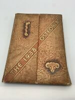 1938 The Osteoblast yearbook year book Kirksville Osteopathic College