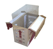 One FeatherEx Parrot Shipping Box (1 Wire Mesh Cage + 1 FeatherEx Box)