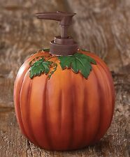 Halloween, Autumn Pumpkin Soap Dispenser by Park Designs, Use for Soap or Lotion