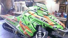POLARIS AXYS WRAP KIT SKS decal GRAPHICS 800 600 PRO RMK ASSAULT 155 163 green