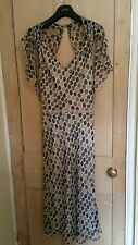 Karen Millen Spotted Tea Dress Flapper Style Size 12