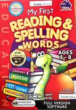 My First Reading & Spelling Words Windows 7 Computer Game Age 5-8+ Aus Curricula