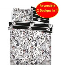 Disney 101 Dalmatians Double Duvet Quilt Cover Set Boys Girls Kids Childrens Bed