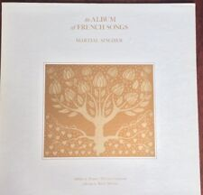"""ARCH RECORDS S-1766 MARTIAL SINGHER """"AN ALBUM OF FRENCH SONGS"""" Dorothy Angwin NM"""