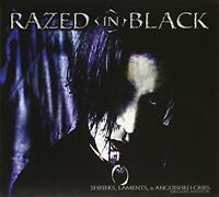 Razed in Black - Shrieks, Laments, and Anguished Cri... - Razed in Black CD 5YVG