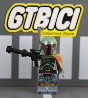 LEGO STAR WARS MINIFIGURA  `` BOBA FETT ´´  Ref 75137   100X100 ORIGINAL LEGO