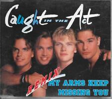 CAUGHT IN THE ACT - My arms keep missing you (REMIX) CDM 5TR Eurodance 1995 Zyx