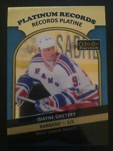 2017-18 O-Pee-Chee Platinum Records PR-4 Wayne Gretzky