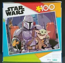 Star Wars The Mandalorian Baby Yoda 100 Piece Jigsaw Puzzle Free Shipping