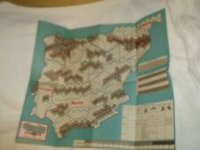 NEW Cond Map for 1978 WWW Wargame 'Operation Condor - The Liberation of Spain'