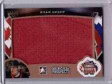 RYAN GROPP 15/16 Leaf Top Prospects Game-Used Jersey #28/45 Rookie #CR-21 Card