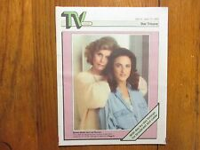 April-1989 Minn Star Tribune TV Week(MARLEE MATLIN/LEE REMICK/BRIDGE TO SILENCE)