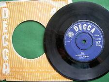 "ANTHONY NEWLEY - WHY.   7"" SINGLE.   (ORIGINAL U.K. SINGLE)."