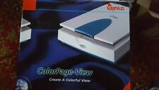 Genius Colorpage Flatbed Scanner - A4 Parallel Port - New Un-used